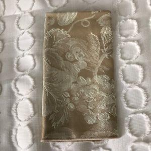 Set of 12 gold napkins